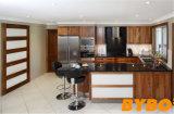 2017 de Moderne Hoge Glanzende Houten In het groot Keuken Cabient van de Lak (door-l-63)
