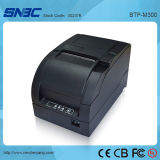 (BTP-M300), 9-Pin Punktematrix, Bargeld Drawer+USB; Serienmäßig, parallel, Ethernet, Bluetooth, WLAN, Positions-Zeilendrucker