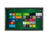 LCD 위원회 디지털 표시 장치 잘 고정된 Touchscreen 모니터 간이 건축물을 광고하는 75 인치
