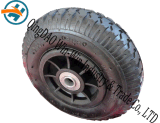 Roue en caoutchouc résistant à l'usure utilisée sur la roue de roulette (8 * 2.50-4)