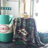 Retro Katoenen van de Handdoek van de Bank van de Vrije tijd van het Patroon van de Totem van het Orakel Algemene Deken van het Bed