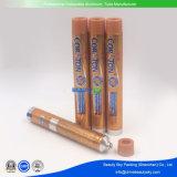Kosmetische Verpackungs-leeres zusammenklappbares Haut-Sorgfalt-Haar-Farben-Handsahne-Aluminiumgefäß