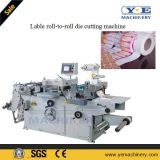 Máquina de rebobinador de cortador de etiquetas de etiquetas de papel pequeno