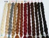 試供品のOmbreカラー100%年のKanekalonの総合的な毛のジャンボブレード