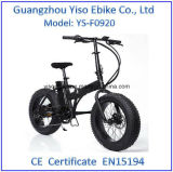 En15194証明書が付いている20インチの電気折りたたみの脂肪質の自転車