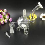 Plataformas petrolíferas de vidro das tubulações de fumo das tubulações de água do Hitman mini