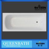 Bañera simple barata del Normal de la bañera de la nueva bañera de acrílico blanca