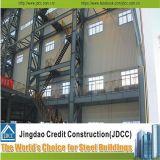 El palmo largo prefabricó el almacén/el taller de la estructura de acero/vertido