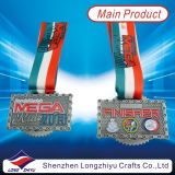 2014 neuestes Custom Sport Medals Gold Taekwondo Medal mit Epoxy Domed (lZY-201300046)