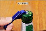 Apri di bottiglia dell'anello di Keychain Keychain della lega di alluminio