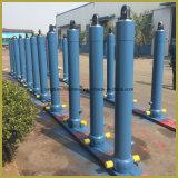 Costume quatro cinco estágios cilindro hidráulico telescópico dos estágios/