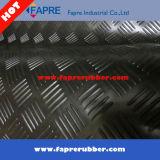 циновка резины бегунка контролера листа пола 3mm серая Anti-Slip резиновый