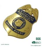 2016 고품질은 주물 금속 경찰 기장을 정지한다