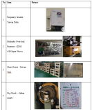 máquina do perfurador da imprensa de potência do frame do PLC C de 35ton Japão Omron