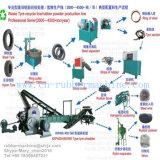 Déchets automatiques élevés / Machine de concassage de pneus usée Machine de concassage de pneus avec Ce ISO9001 SGS