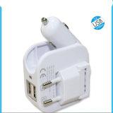 Tellphone를 위한 두 배 USB 창조적인 전화 충전기 차 충전기