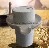 Harina de trigo de piedra natural manual del molino de la venta caliente