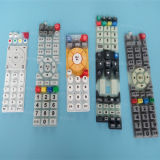 Universalfernsteuerungssilikon Keypress Gummi-Druckknöpfe