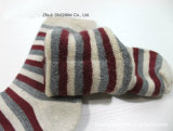 Katoenen van de Levering van de fabriek In het groot Polyester Dikkere Terry Towel Socks