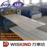 Corrugated Prepainted настилая крышу стальной лист