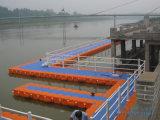 Flotadores plásticos el pontón del HDPE