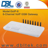 8 canales GSM Gateway VoIP / GOIP 8