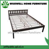 단단한 소나무 2인용 침대 룸 가구 (WJZ-B108)