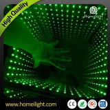 3D Mirror Abyss Dancing Panel LED Dance Floor Starlit Dance Floor pour Stage Party Wedding Events Show
