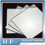 Fournisseur de miroir d'hommes de Jiang 2mm, 3mm, 4mm, 5mm, miroir argenté à couche double de 6mm, glace argentée de miroir, miroir argenté
