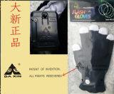 Guantes que contellean del partido de la aduana promocional LED de los items