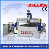 Автомат для резки металла маршрутизатора CNC поставщика золота Ele-1325 электрический с системой охлаждения тумана