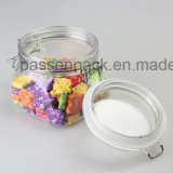 Tarro Pet Kliner , Plaza Jar caramelo , tarro de chocolate , Dried Fruit Jar ( PPC- 36 )