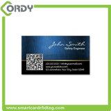Tarjeta de visita elegante clásica de encargo del PVC 4k RFID de la impresión MIFARE