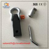 Récepteur solide d'accroc de clip D plaqué par chrome