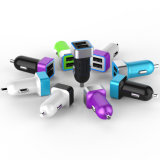 CE 5V/1A, USB Mini Car Charger de RoHS & de Sgsapproved 2port (CY-UB-02)