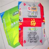 Sac et papier tissés par pp colorés d'impression
