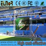 Tablilla de anuncios Estupendo-Fina a todo color de LED del alquiler P10 del estadio del deporte