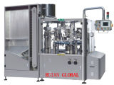 Высокоскоростные автоматические заполнение пробки и машина уплотнения для сливк кожи