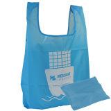 쇼핑을%s Foldable 폴리에스테 끈달린 가방