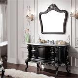 純木の浴室の虚栄心を立てる新しい床