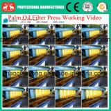 Machine hydraulique automatique de filtre-presse de plaque et d'huile de noix de coco de bâti