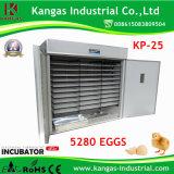 Machine automatique d'incubation d'oeufs des meilleurs des prix du réglage 5280 oeufs de poulet