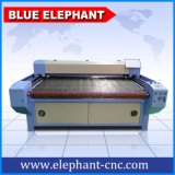 De goedkope Scherpe Machine van de Laser van Co2 Automatische CNC, de Scherpe Machine van de Laser van de Stof voor Verkoop
