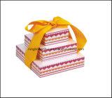 Cubo de notas nuevo diseño Pirámide de papel con cinta de Promoción