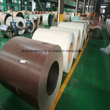 Bobina de acero del color del Anti-Dedo PPGI de la fábrica