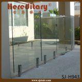 Roestvrij staal om Spon voor het Traliewerk van het Glas Frameless (sj-S155)
