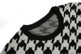 Maglione rotondo su ordinazione del pullover del jacquard del collo per gli uomini