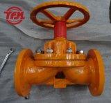 Handrad-Bediener-PFA ausgekleidetes Membranventil