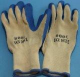 De op zwaar werk berekende van de Katoenen van het Nitril Rubber Met een laag bedekte Handschoenen Hand van de Voering