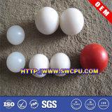 赤く堅いプラスチック空の二つの部分から成った球(SWCPU-P-PB051)